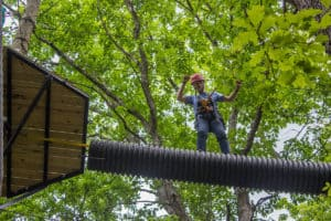 Ridgecrest High Adventure Challenge Course