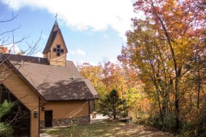 Ridgecrest Rutland Chapel outside building